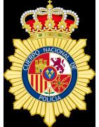 LLAVEROS BORDADOS DE LA POLICIA